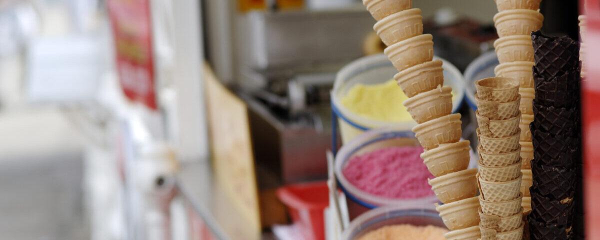 Ice Cream and Catering Van